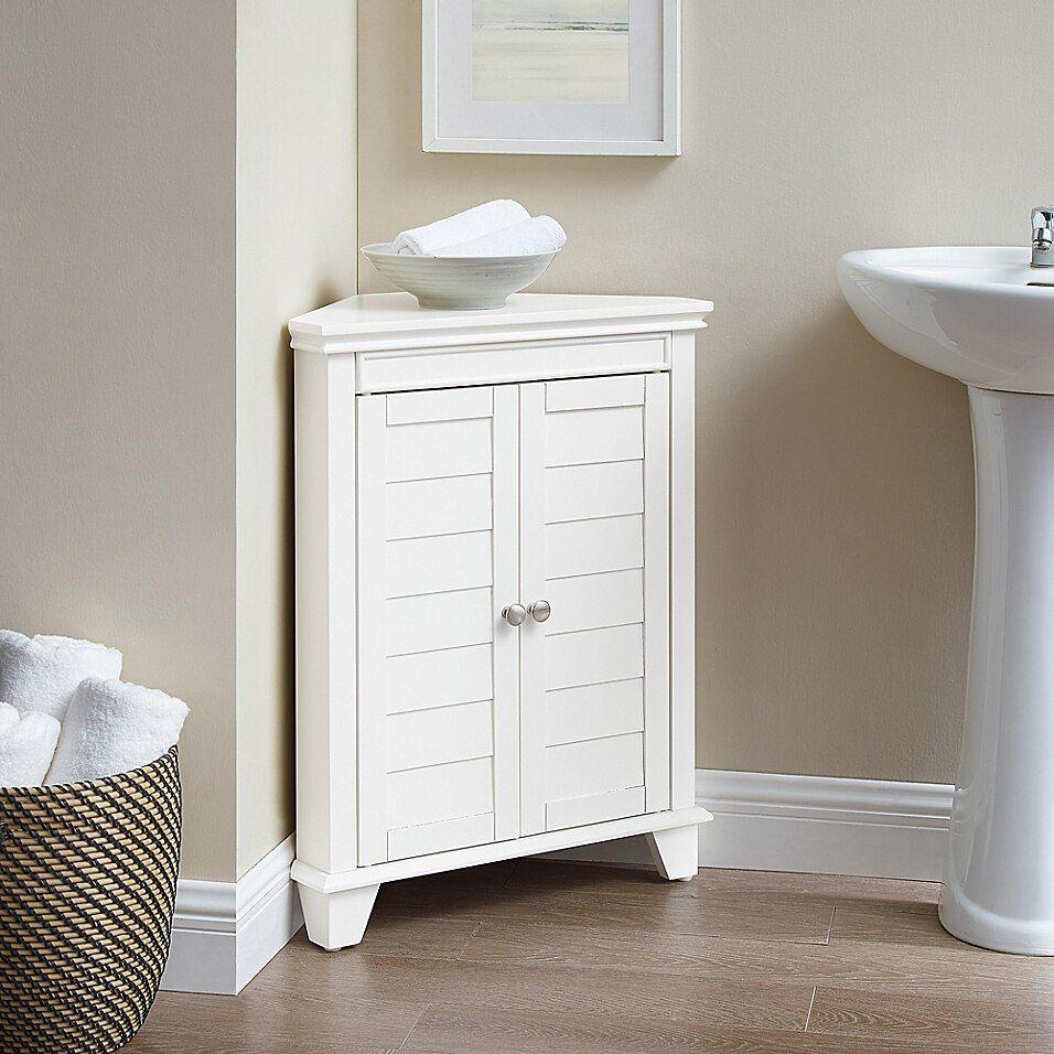 Crosley Lydia Corner Cabinet Bed Bath Beyond Bathroom Corner Storage Corner Storage Cabinet Corner Cabinet