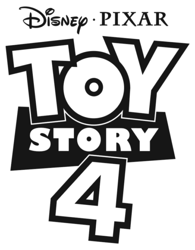 Toy Story 4 Logo Coloring Page Toy Story Coloring Pages Story