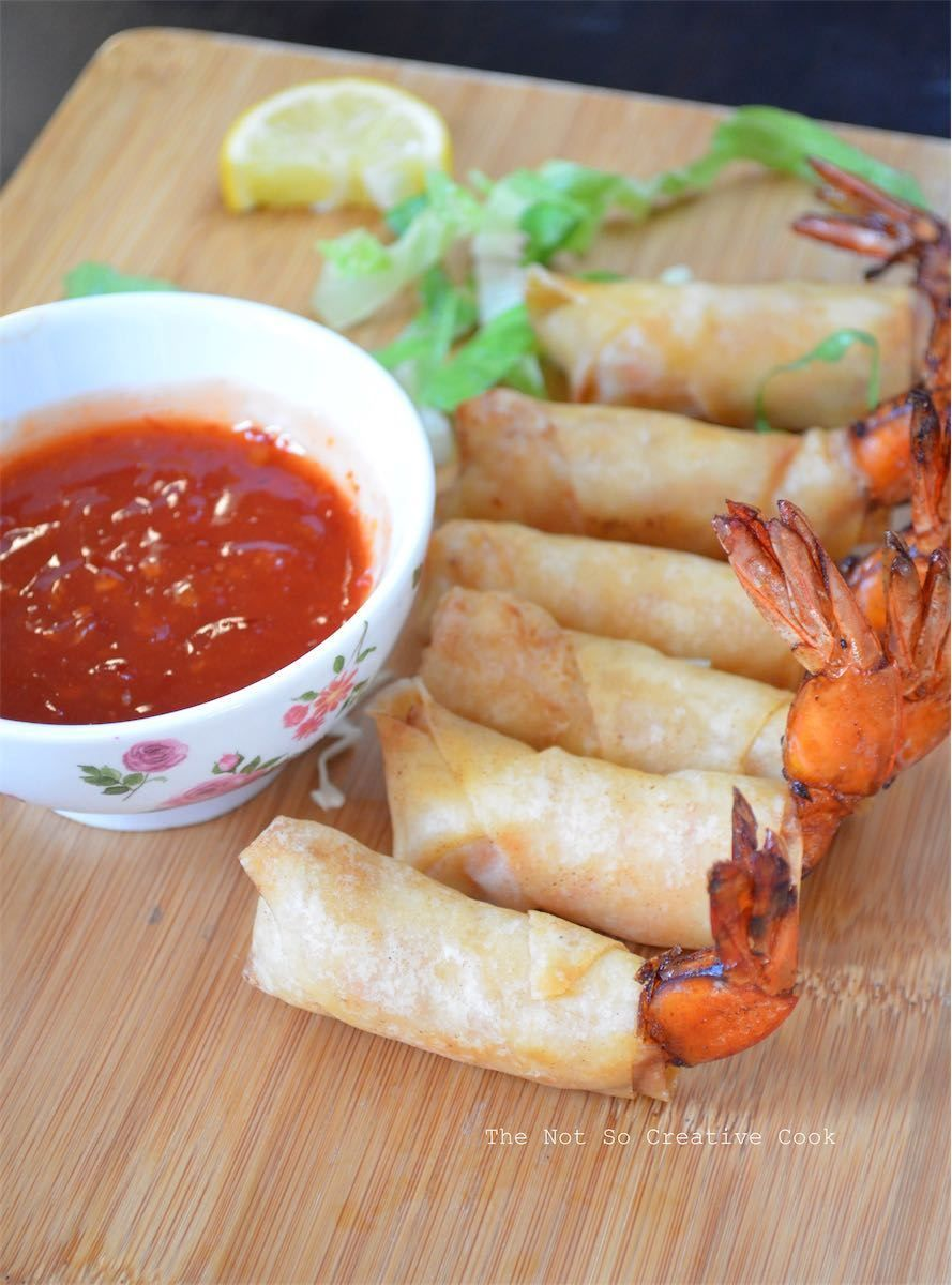 Firecracker Shrimps - The Not So Creative Cook