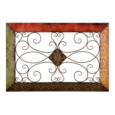 Metal Wall Plaque monterrey metal wall plaque | metal walls, walls and decorating