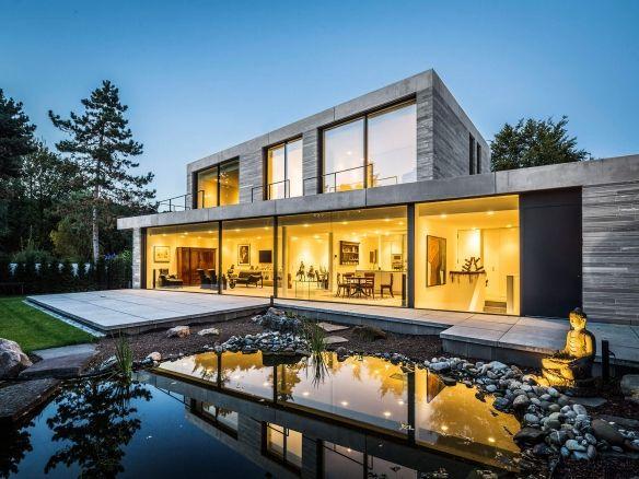 Moderne Hauser Wohnhaus Koln Hahnwald Corneille Uedingslohmann Architekten Wohnhaus Architekt Architektur Haus