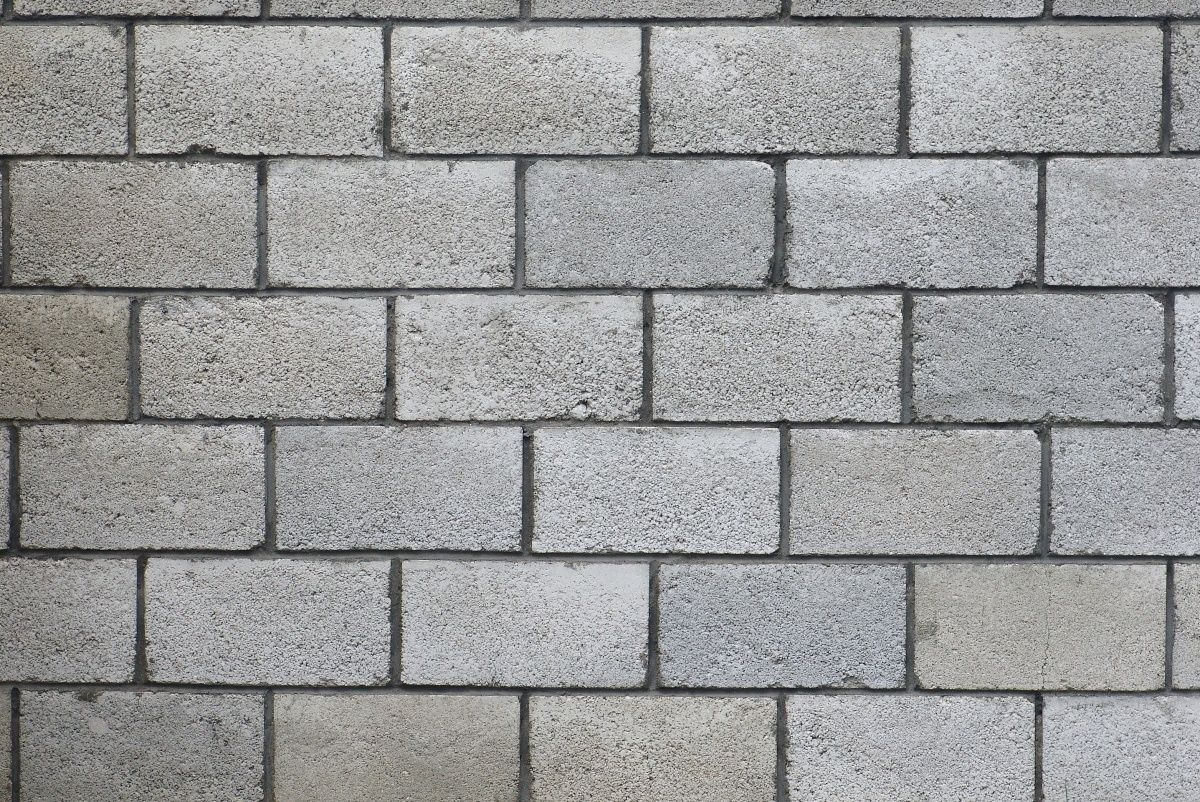 Pared De Blocks Texture Concreto Paredes Pinterest
