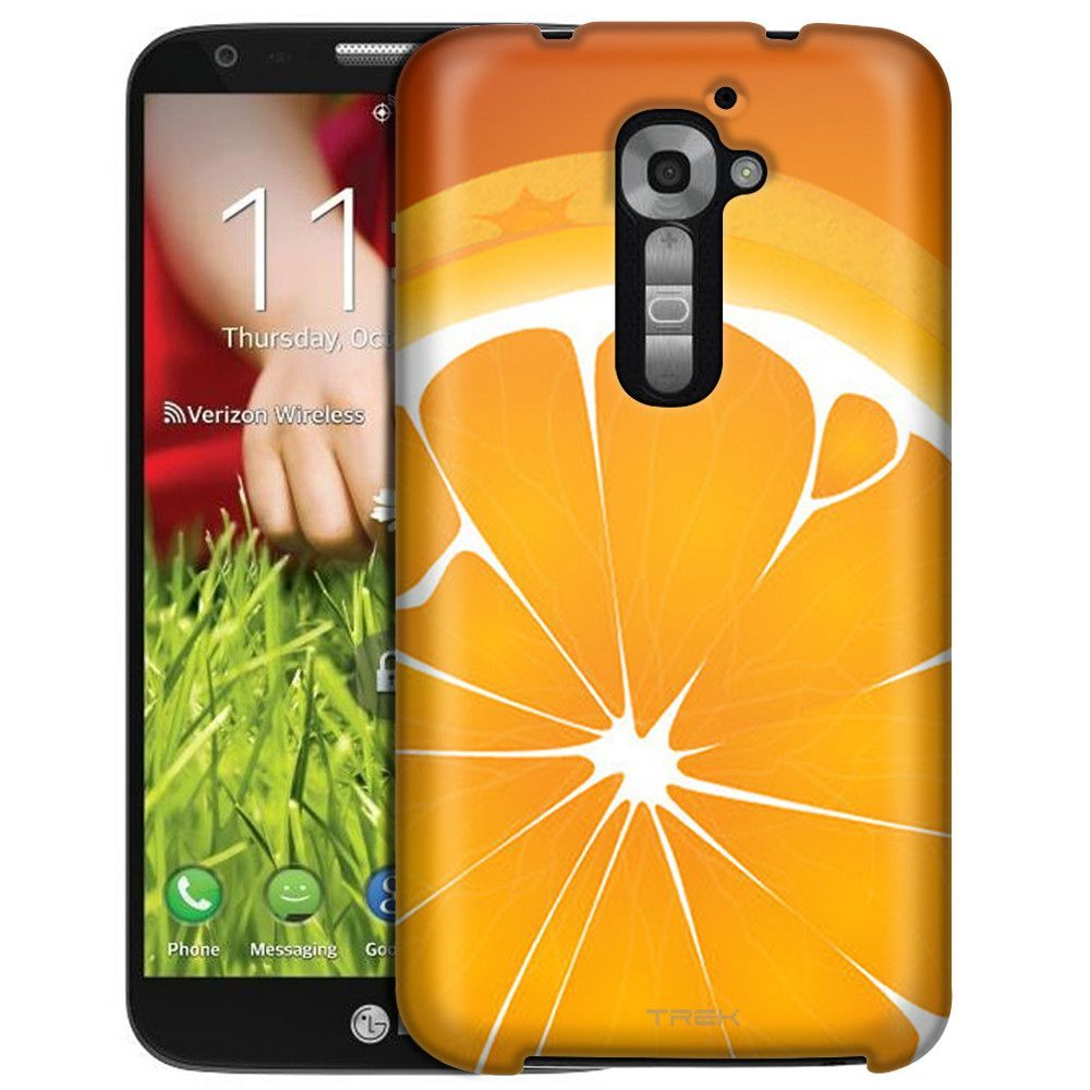 LG Verizon G2 Cute Orange Slice Slim Case