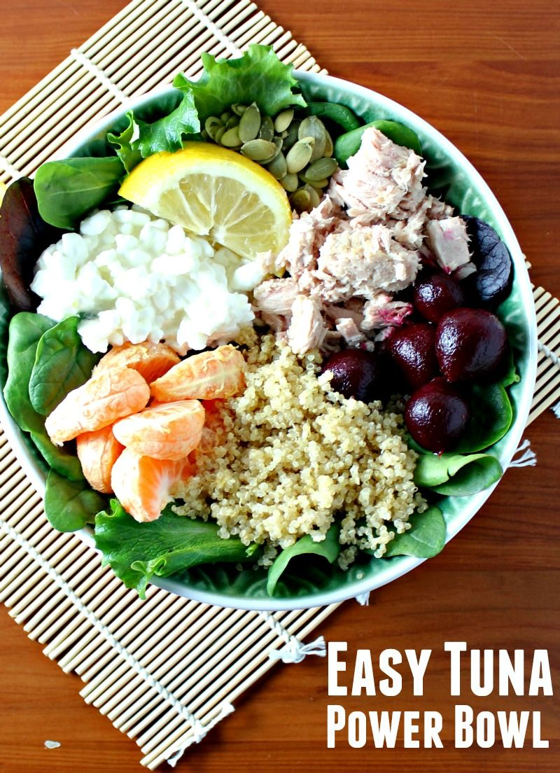 Check out easy tuna power bowl its so easy to make tuna easy tuna power bowl forumfinder Choice Image