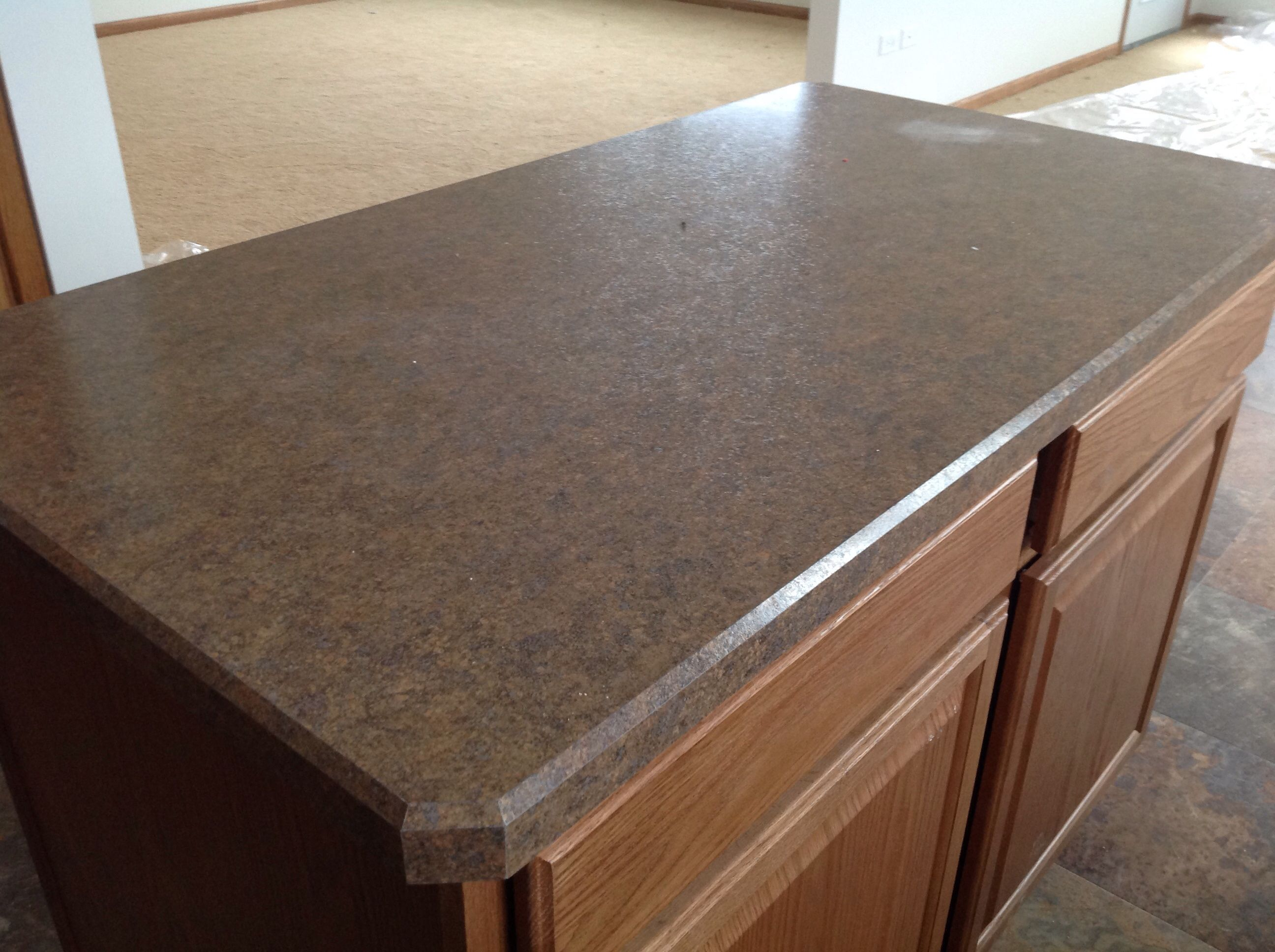 Wilsonart HD Countertop With Beveled Edge Lago Vista, Lockport   By Hartz  Homes