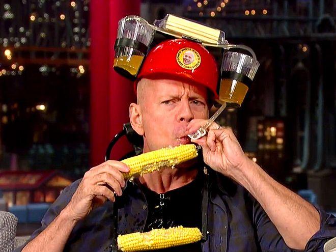 Matthew Mcconaughey Jessica Alba Drew Barrymore Celeb Quotes Bruce Willis David Letterman Celebration Quotes