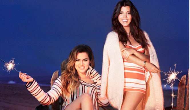 Kourtney and Khloe were called trash by a heckler who yelled at them during their recent trip to Fire Island. According to Radar Online, a man yelled at the