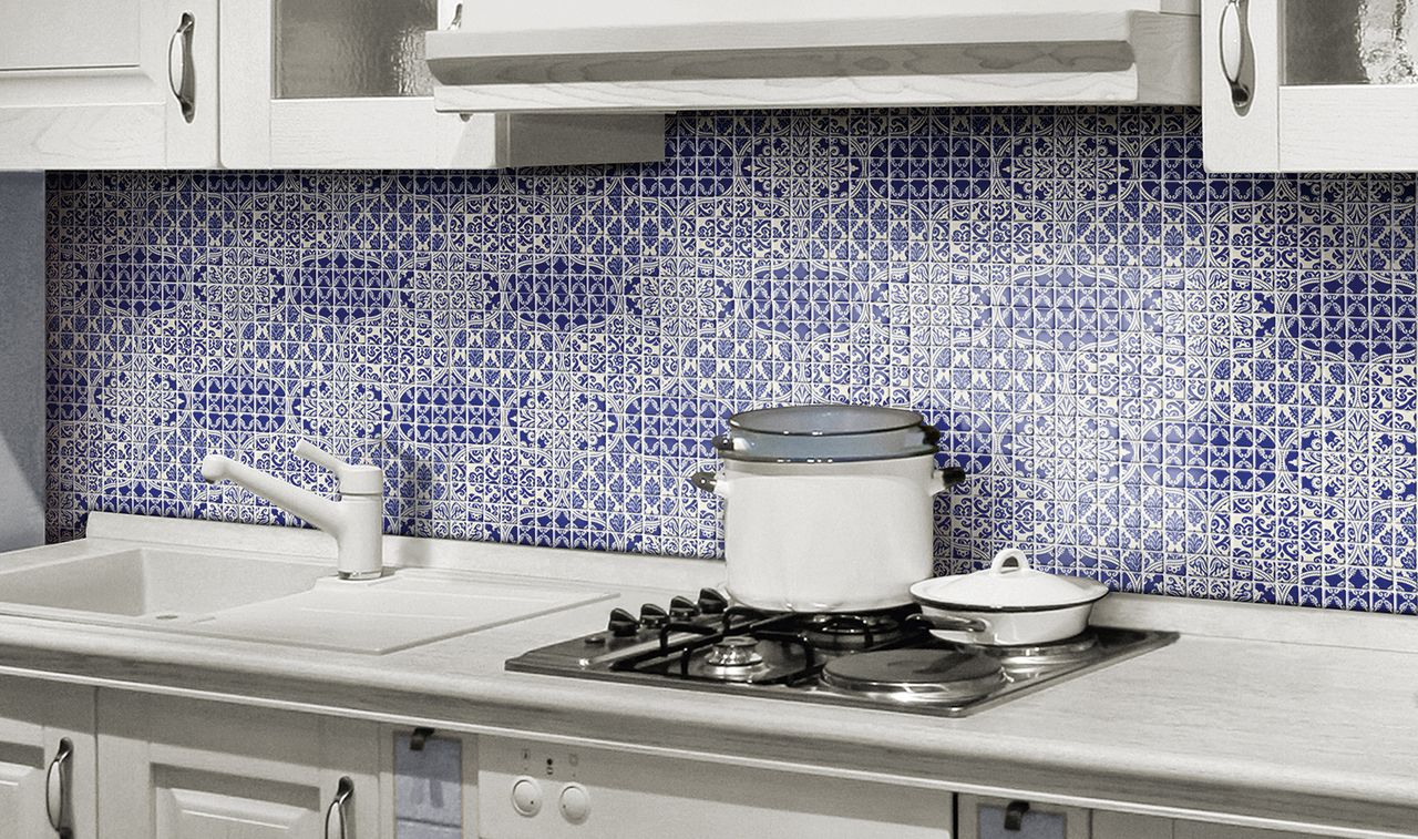 - Portuguese Print Recycled Glass Mosaic Tile Is Eco-friendly And
