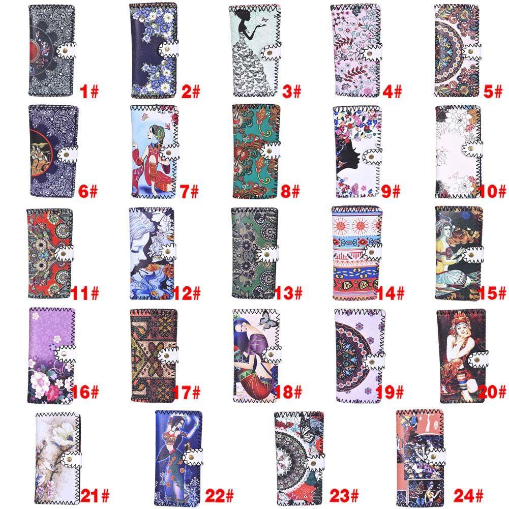 Fashion Women National Pattern Embroidered Wallet Long Purse Handbag #Affiliate
