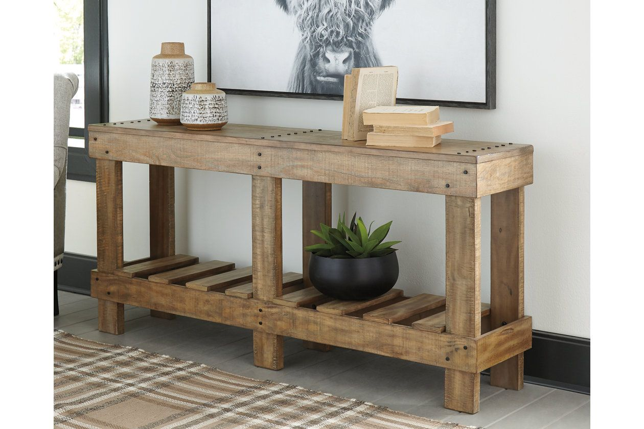 Susandeer Sofa Console Table Ashley Furniture Homestore Wood Console Table Outdoor Console Table Console Table