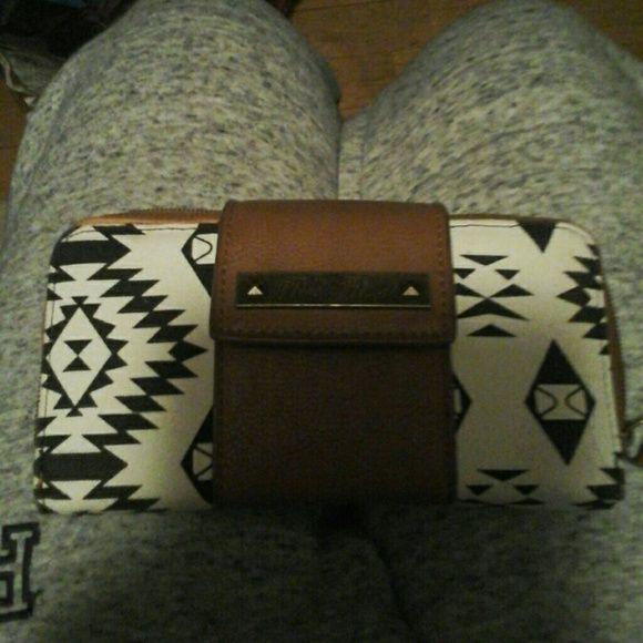 Aztec wallet Lightly used rock rebel Bags Wallets