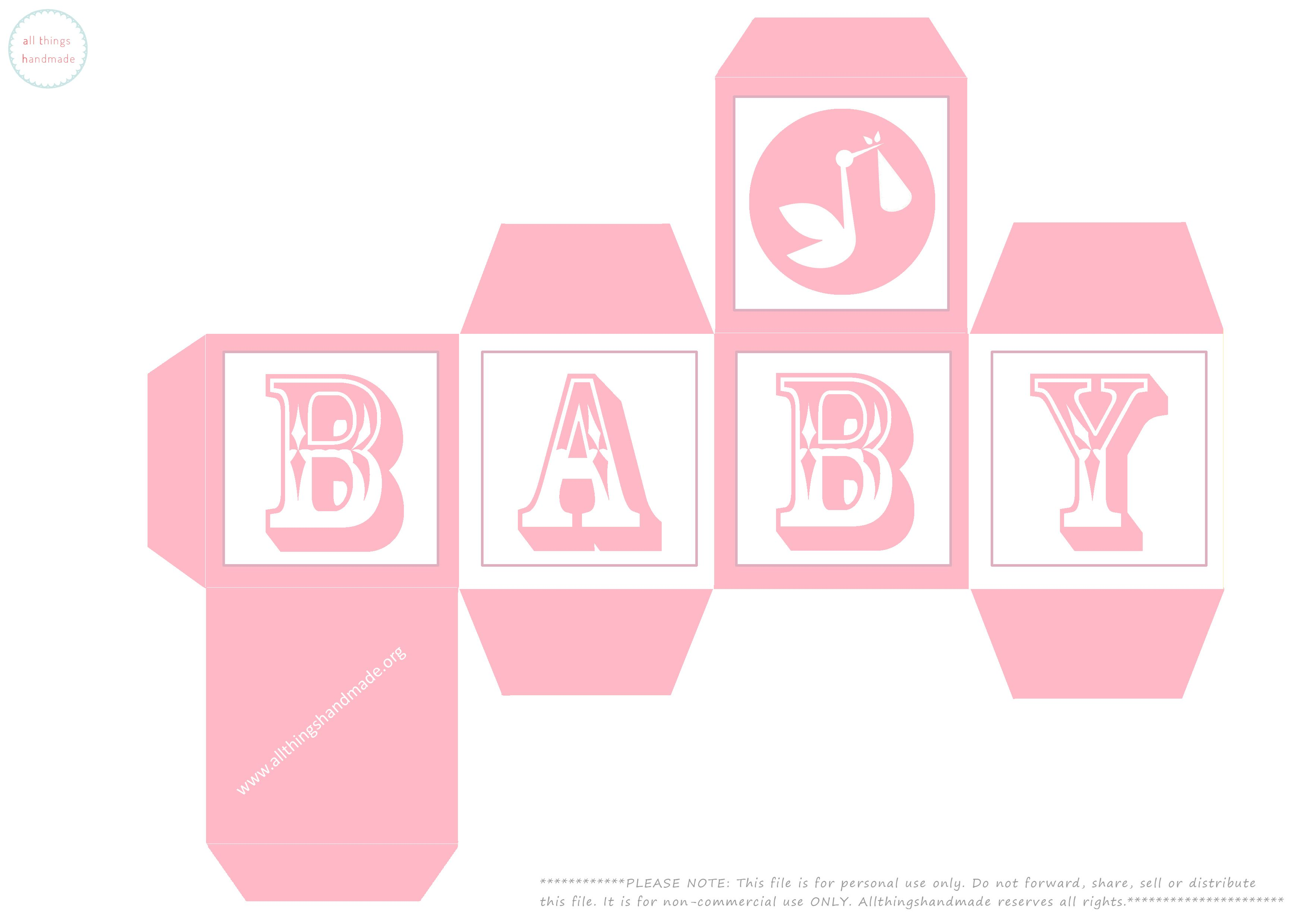 Use These Baby Shower Building Blocks As Favour Boxes At Your Next Baby  Shower Or Use