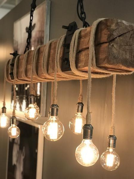 Carroll Industrial Chandelier In 2020 Kronleuchter Selbst Bauen Selbstgemachte Lampenschirme Lampen Holz Rustikal
