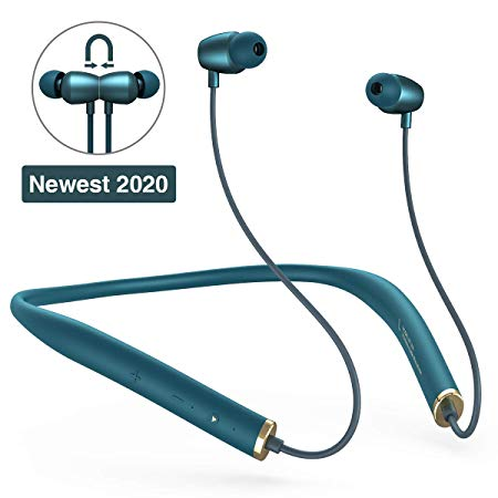 Bluetooth Headphones Sanag Wireless Earphones Hanging Neck Bluetooth 5 0 Headsets Hifi Sports In Ear Earbuds F In 2020 Neckband Headphones Wireless Earphones Earbuds