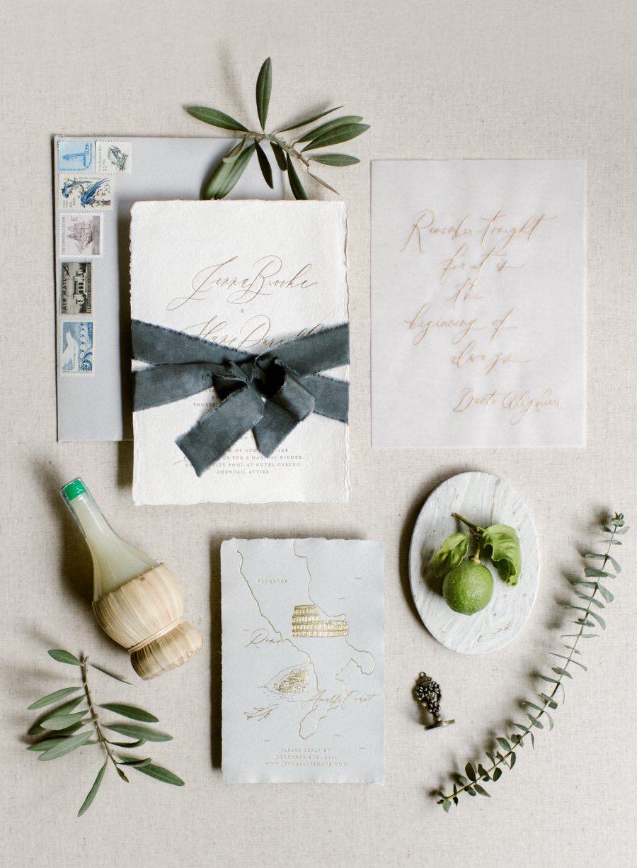 Breathtaking Destination Wedding with Black and White Details ...