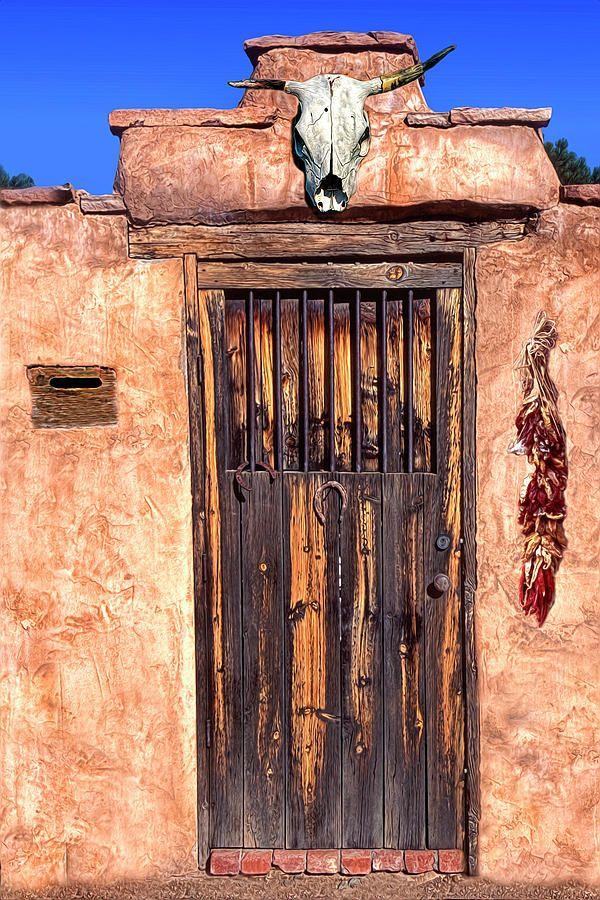 Santa Fe Door Painted Doors Beautiful Doors Unique Doors