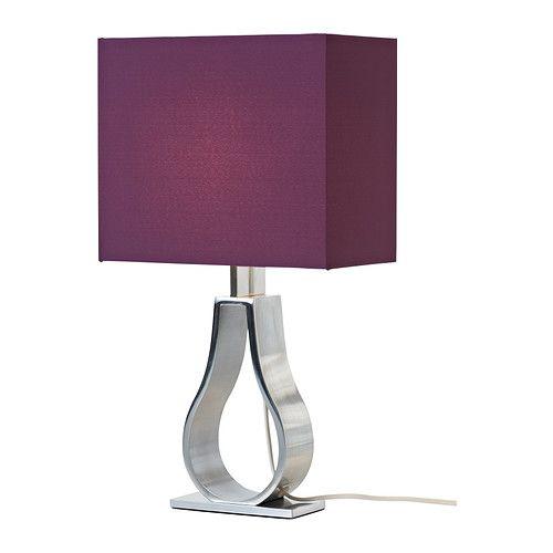 klabb tischleuchte ikea schirm aus stoff sorgt f r gestreutes dekoratives licht d o m o v. Black Bedroom Furniture Sets. Home Design Ideas