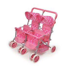 Quad Deluxe Stroller By Badger Basket Enough Room For All Of The
