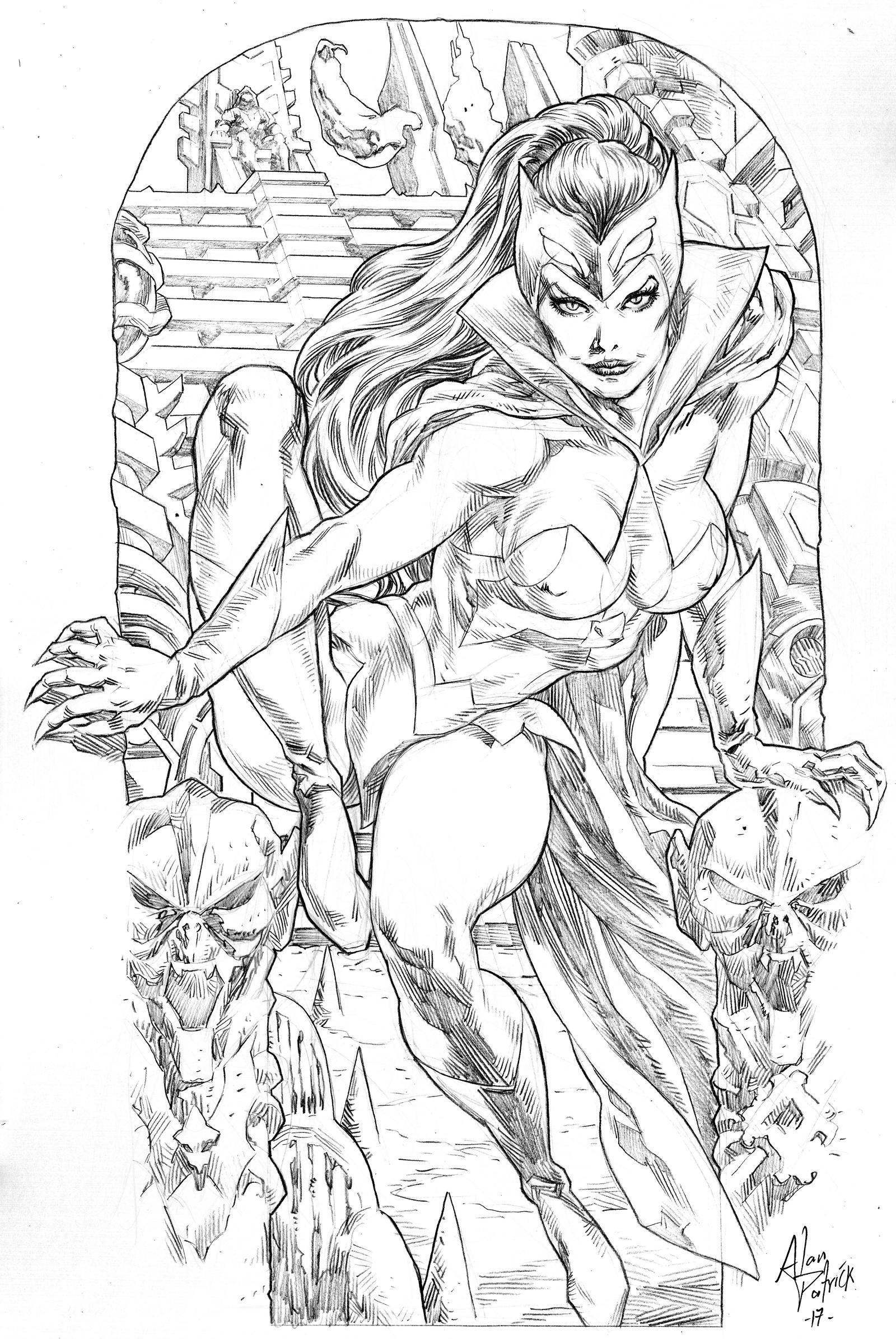 Catra by AllPat on DeviantArt Marvel art, Art