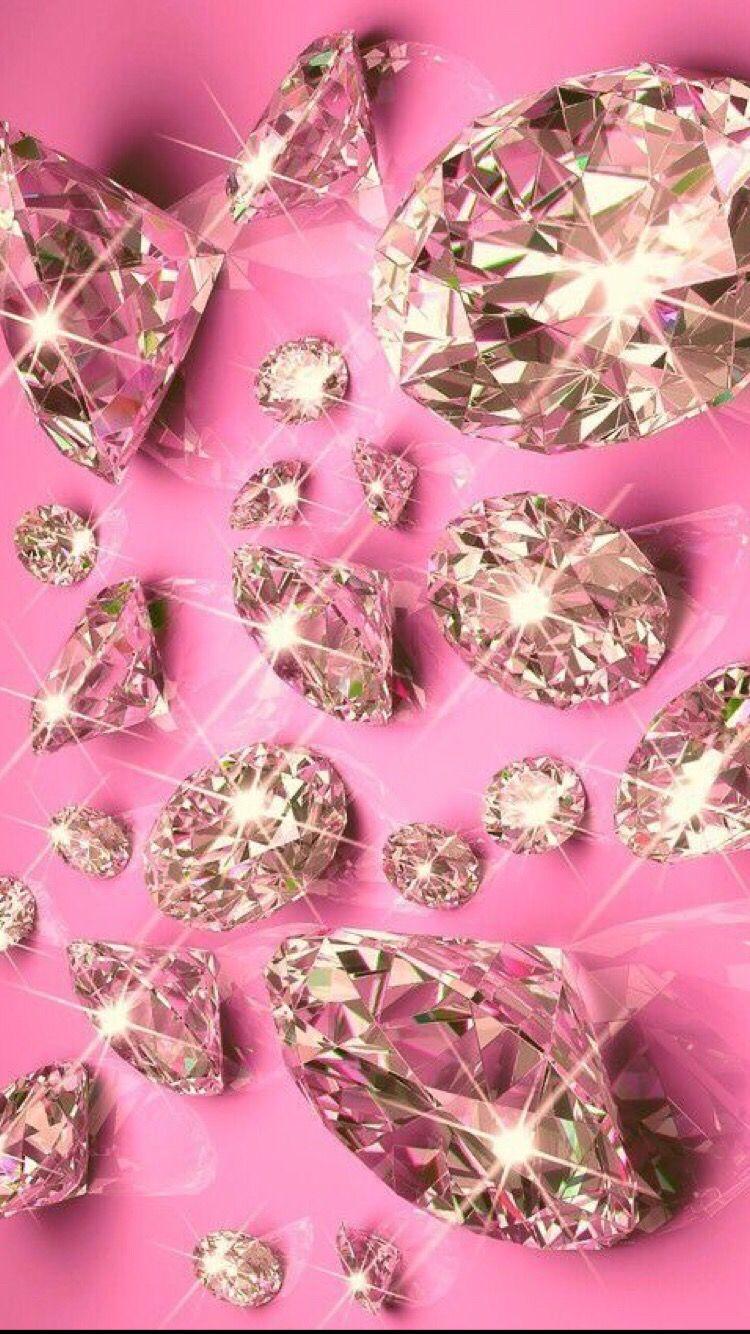 Pin By Mayra On Wallpapers Diamond Wallpaper Pink Wallpaper Iphone Wallpaper