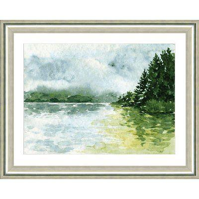 Smith & Co. 'Landscape I' Framed Print | Wayfair