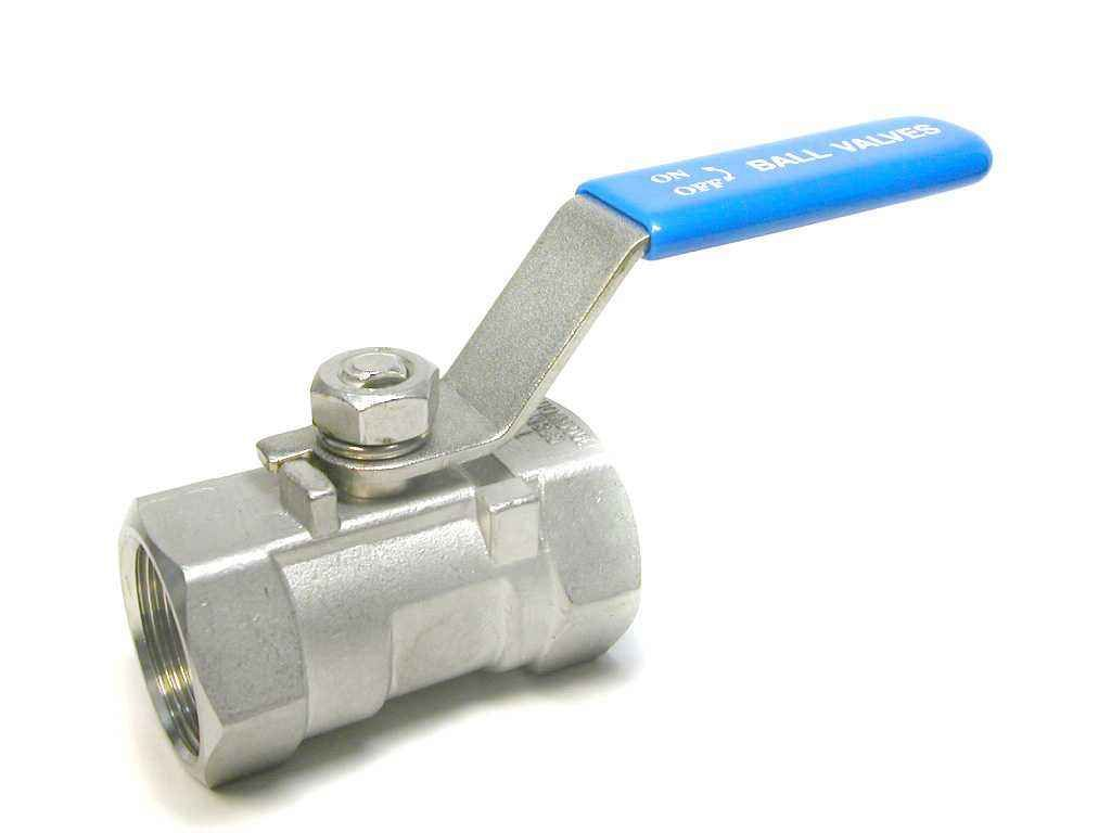 One Piece Type Ball Valve With Internal Thread Butterfly Handle Q11f 16 64p R