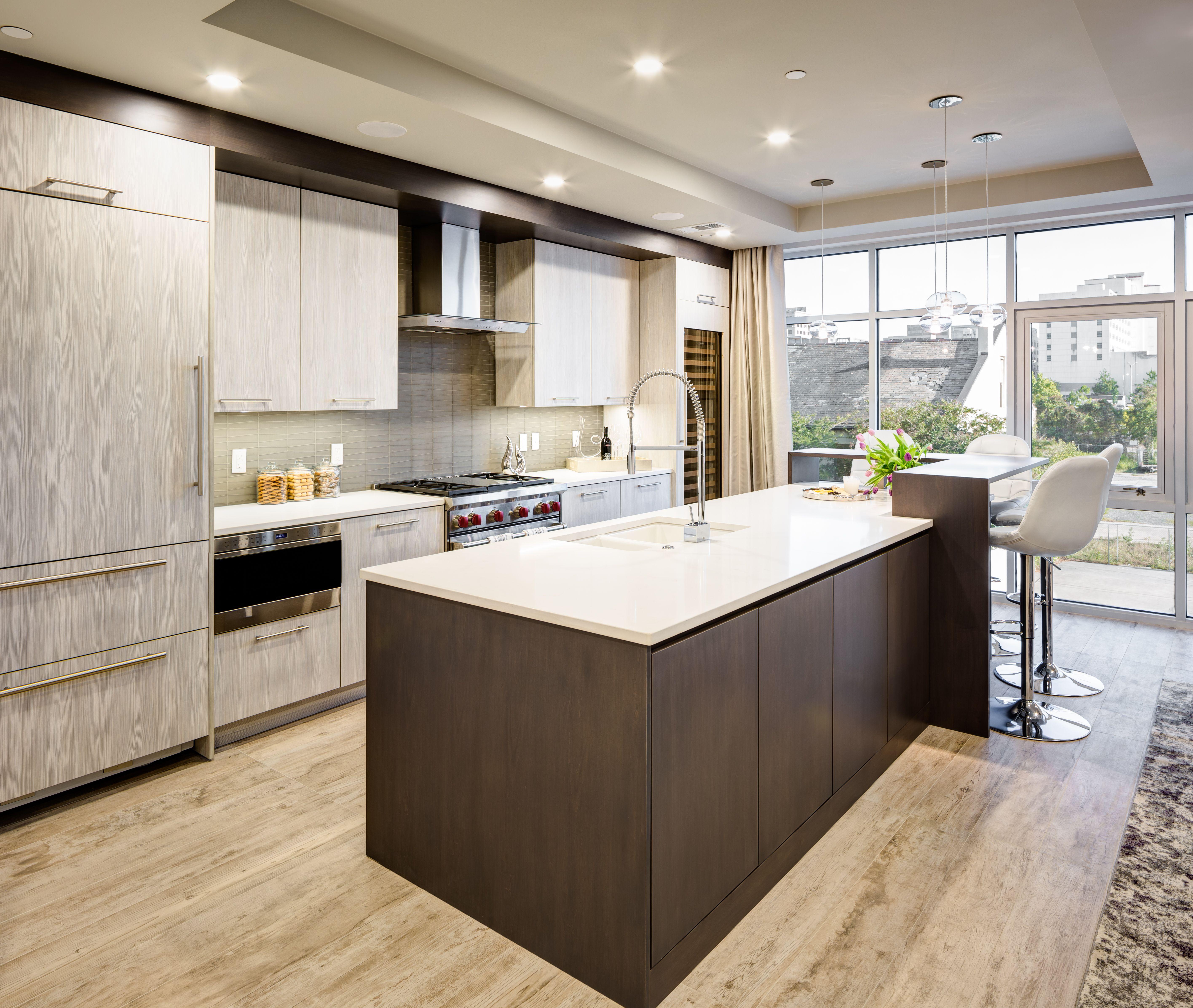 Modern Sleek Kitchen Design The Design Studio Of Louisiana