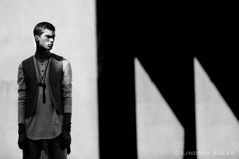 Man of Structure fashion editorial in Flaunt Magazine by LIndsay Adler #MensFashionedgy
