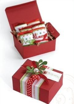 10 Gift Wrapping Ideas For A Budget Friendly Christmas Christmas Gift Box Easy Christmas Crafts Christmas Crafts For Gifts