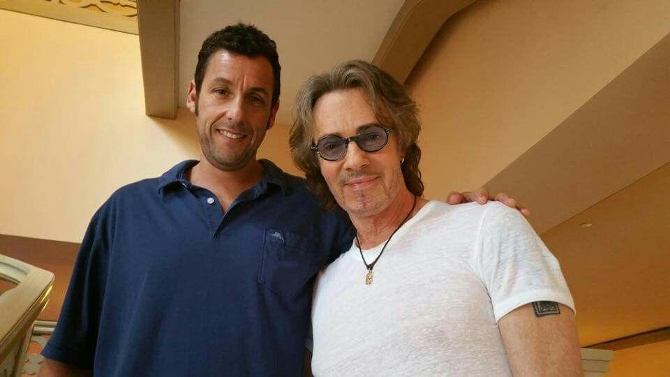 Just ran into Adam Sandler in Cancun. 6-15-15 via RS fb ...