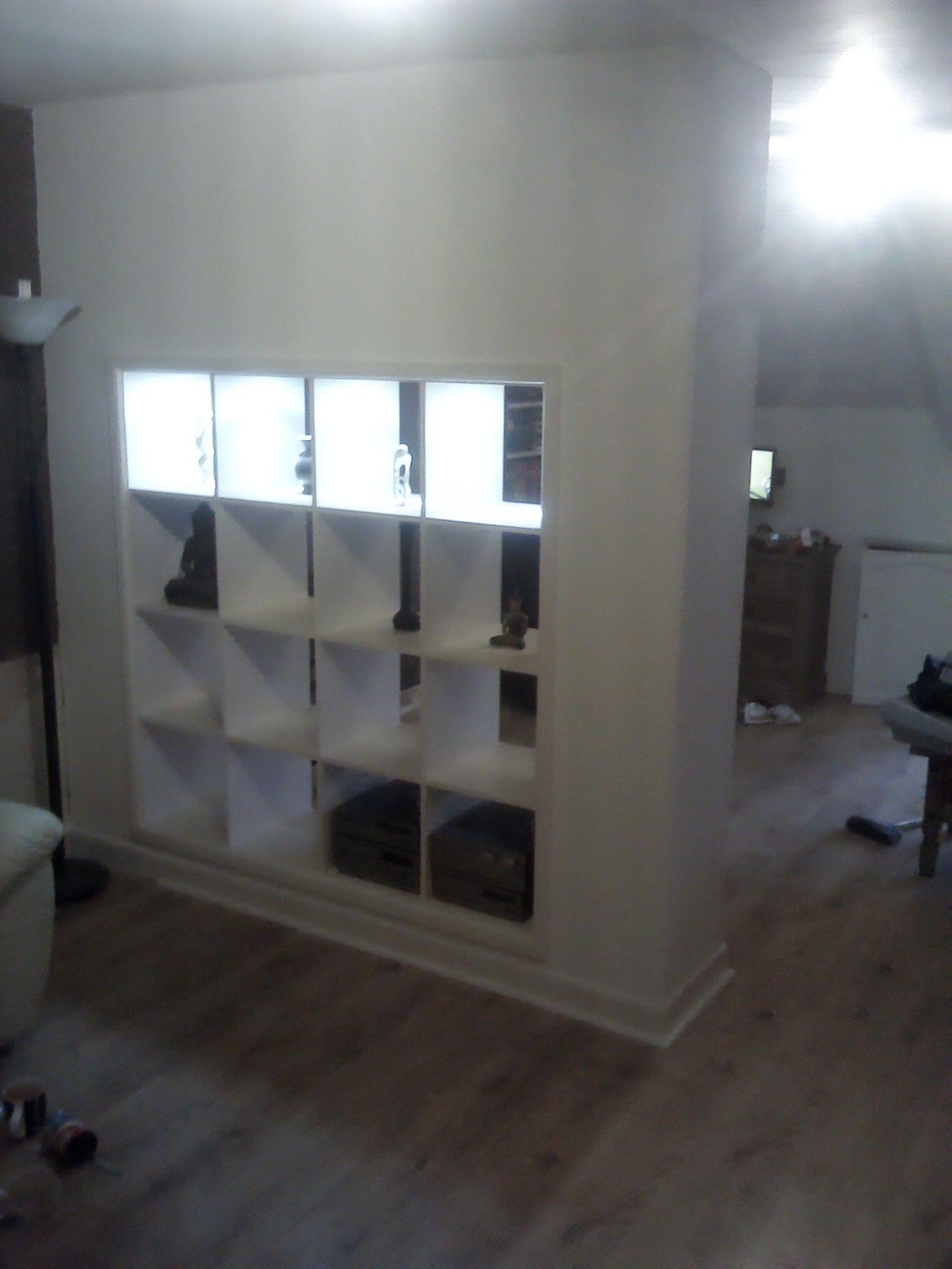 Expedit Built In Room Divider Cloison De Separation Ikea
