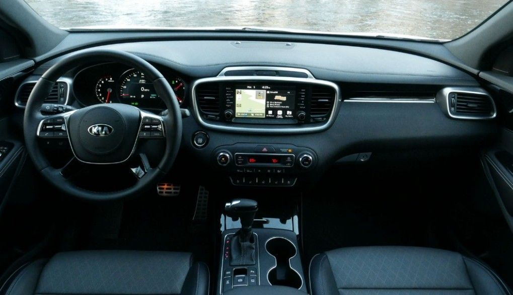 2020 Kia Sorento Interior Price Design And Di 2020 Dengan Gambar