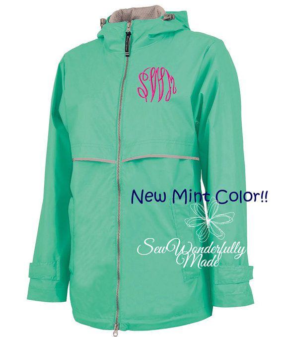 Mint Rain Jacket - New Color Mint Charles River Rain Coat ...
