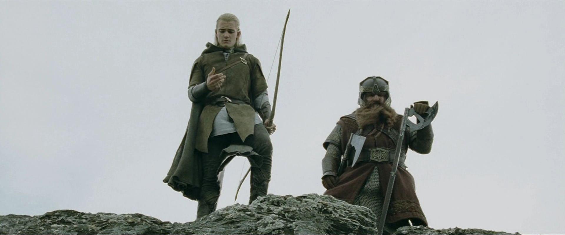 Photo: Legolas Greenleaf (Orlando Bloom) şi Gimli (John ...