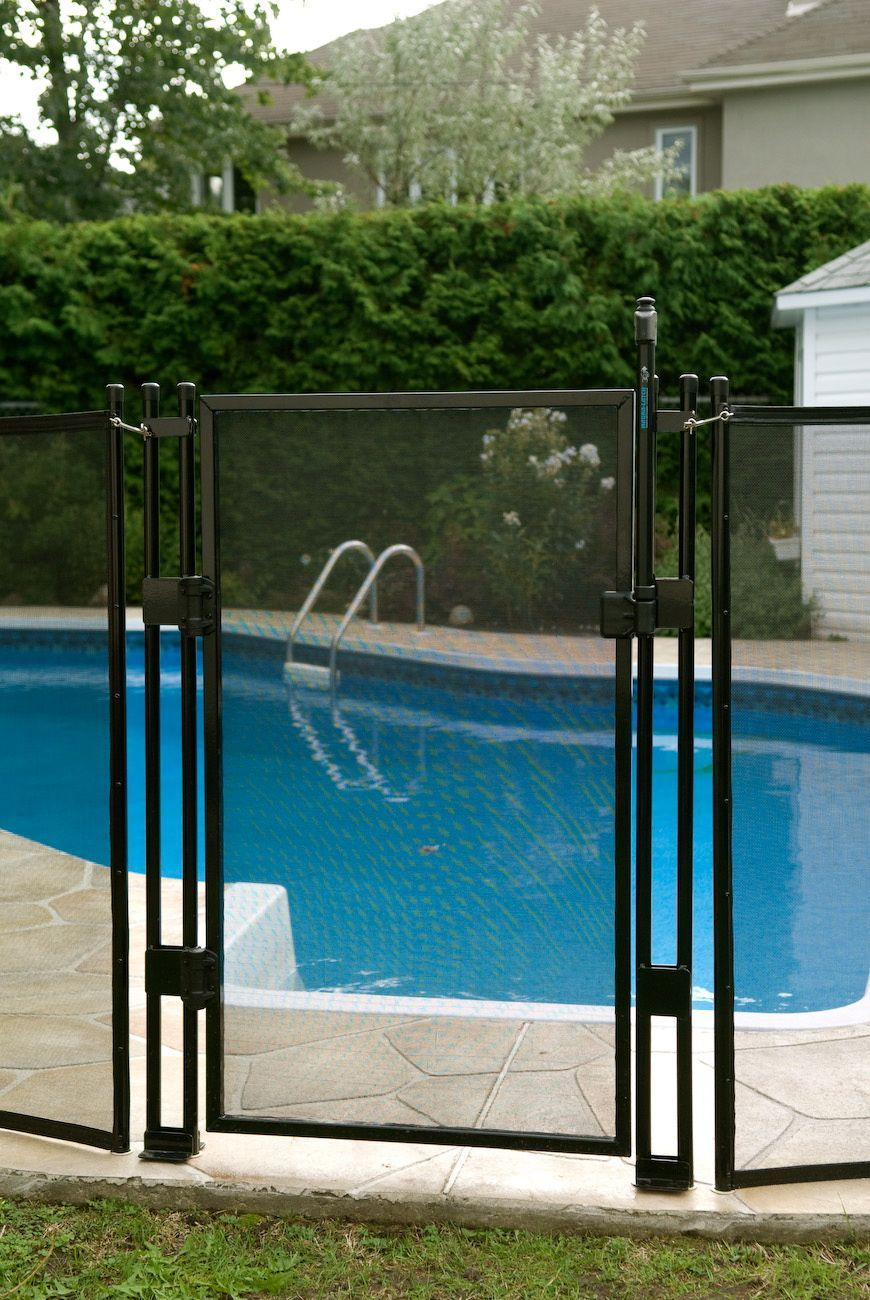 SAFETY FIRST! The CHILD SAFE Removable Pool Fence Is