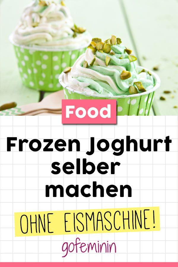 Frozen Joghurt selber machen: Dieses Rezept klappt ohne Eismaschine!