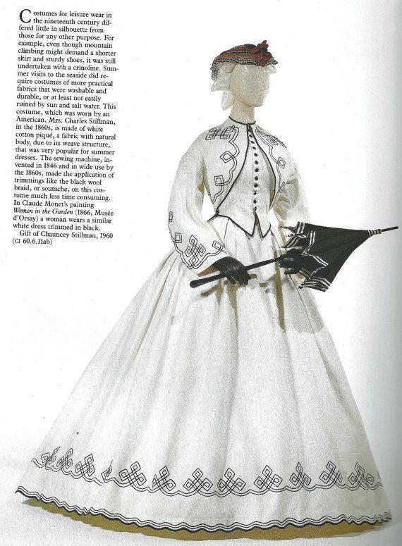 1860's Seaside Dress