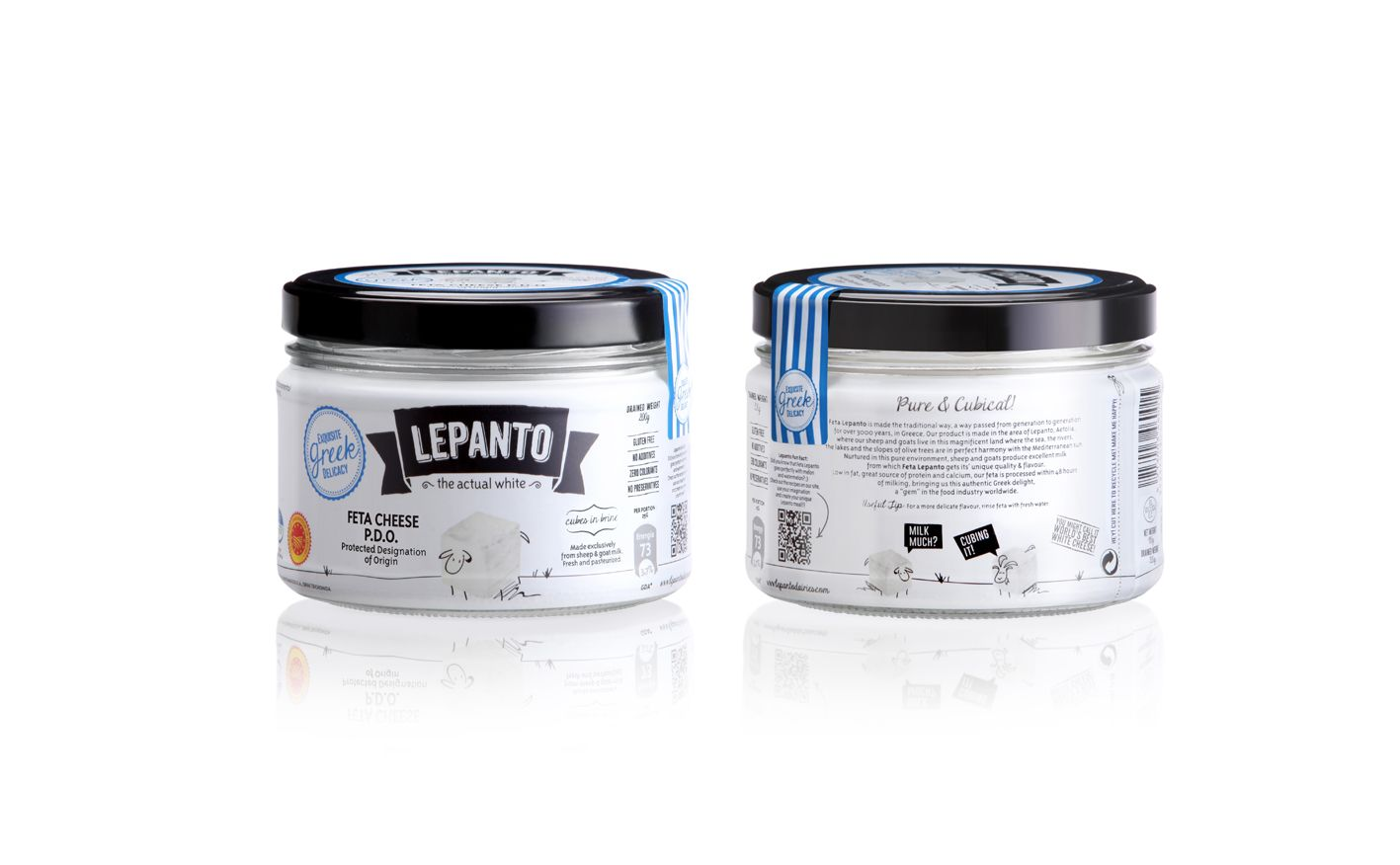 Lepanto - The Actual White on Packaging of the World - Creative Package Design Gallery