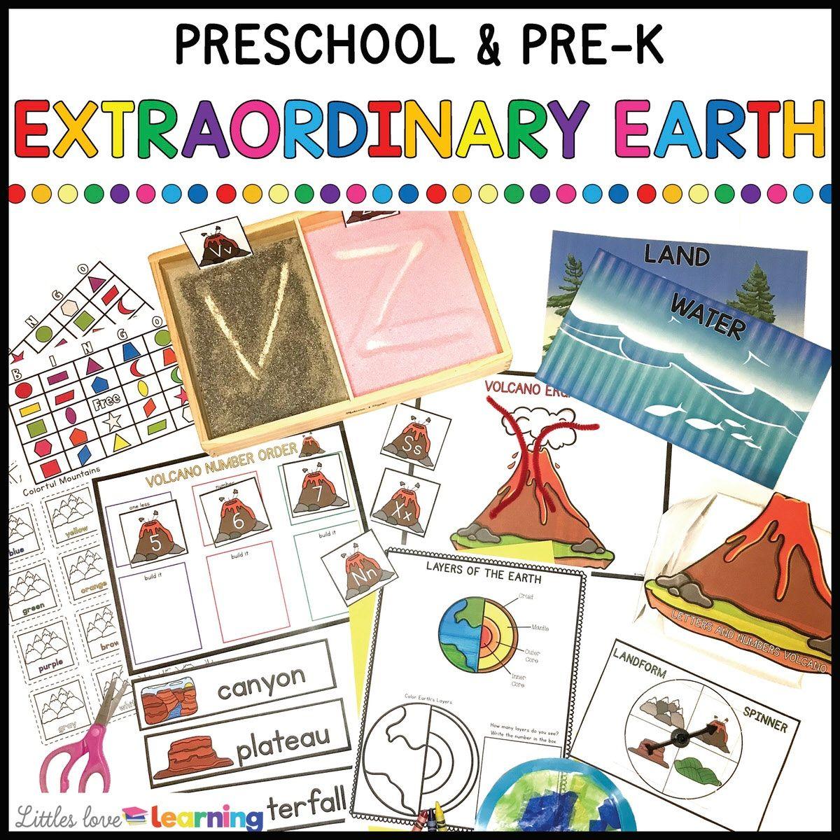 Extraordinay pre k worksheets printables Latest
