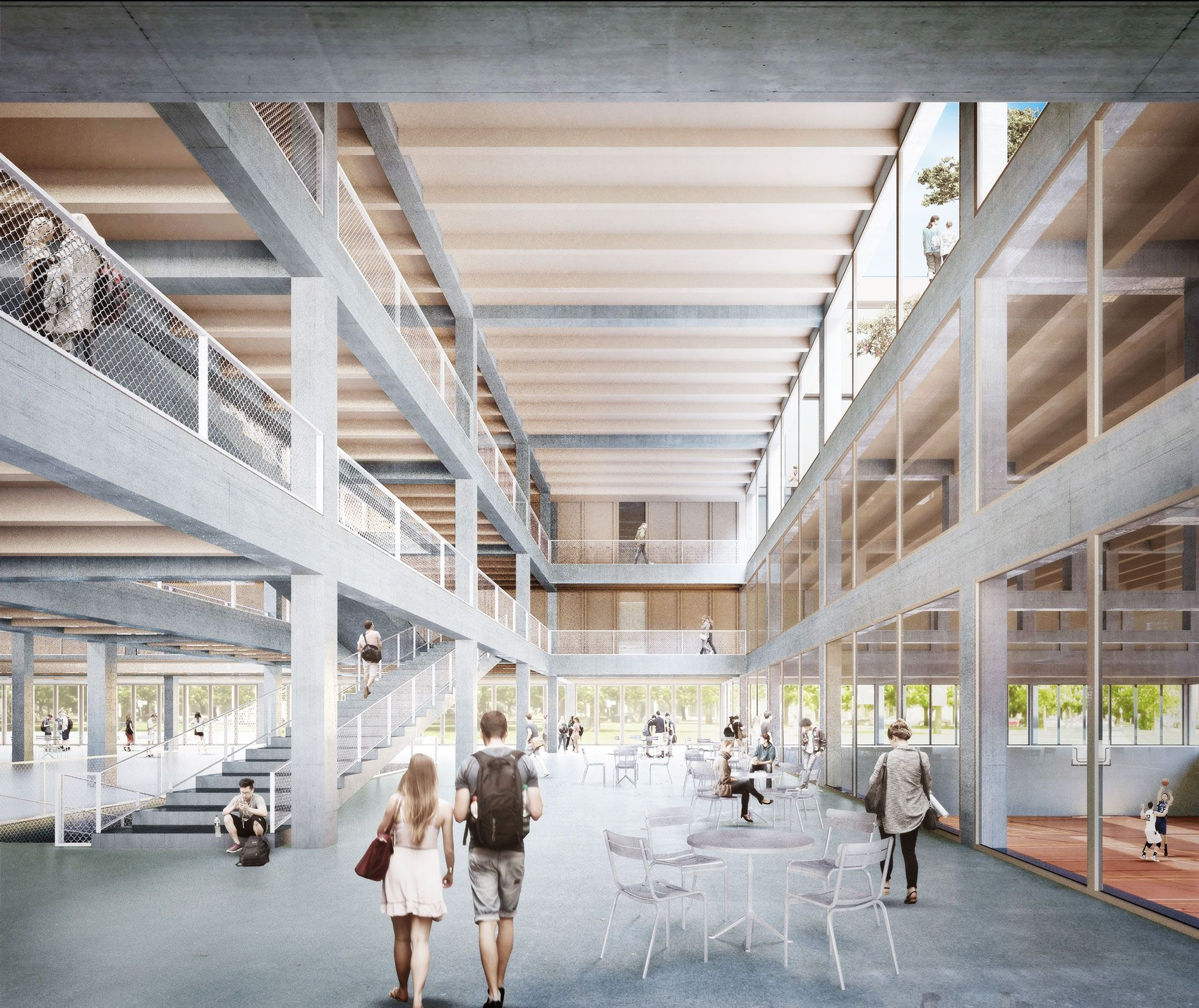 1 preis zur weiterbearbeitung empfohlen perspektive for Innenraum design berlin