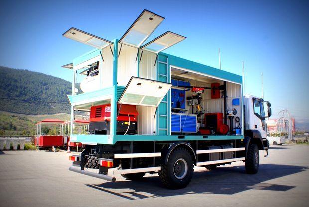 Mobile Vehicles Alura Trailer Turkey Heavy Duty