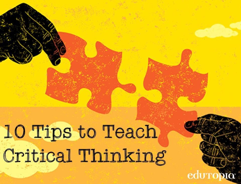 Critical thinking in schools