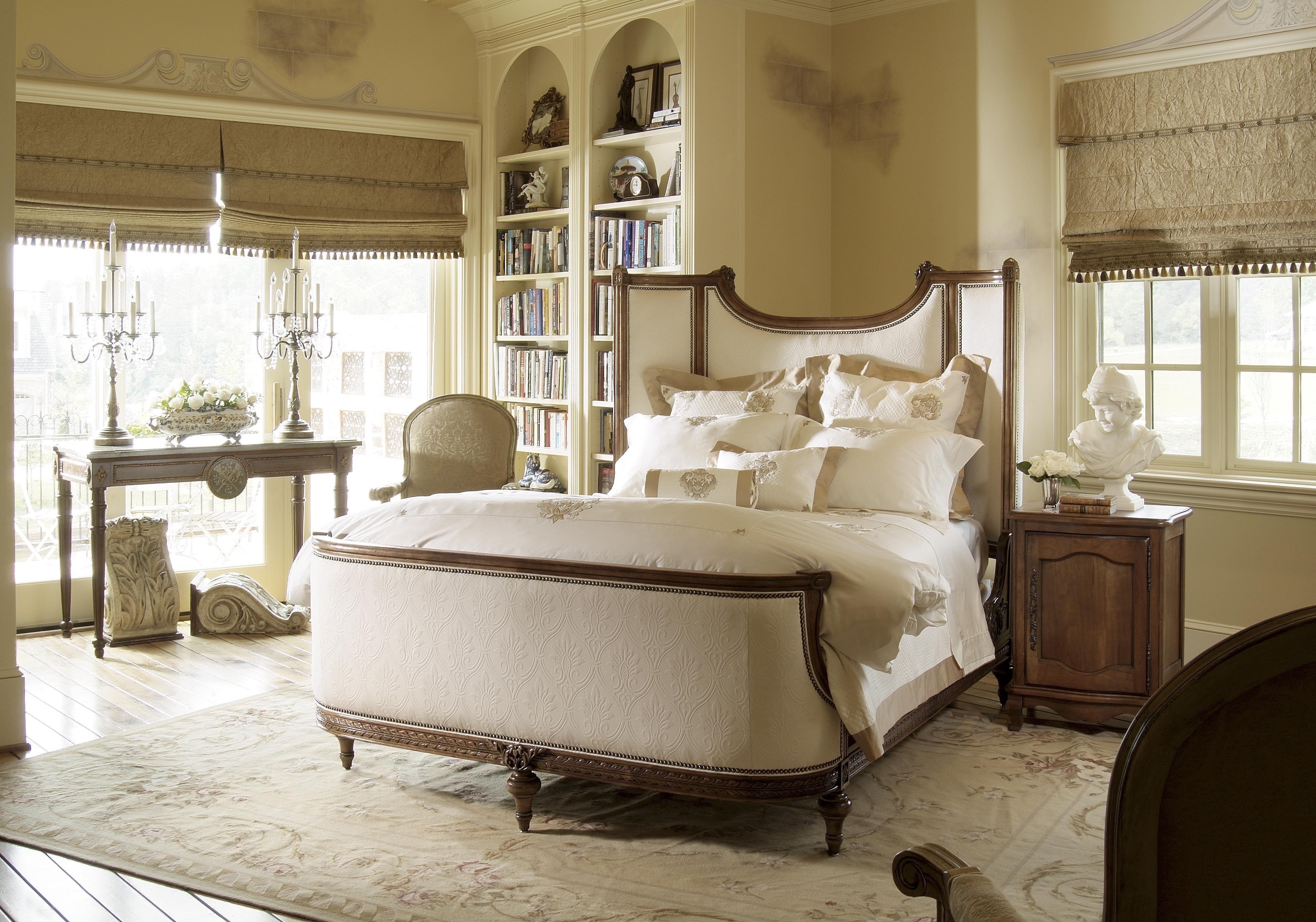 Italienischen Stil Bett Gehobenen Italienische Schlafzimmer ...
