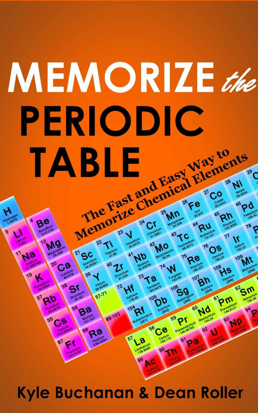 Easy way to memorize periodic table of elements choice image memorize the periodic table the fast and easy way to memorize memorize the periodic table the gamestrikefo Choice Image
