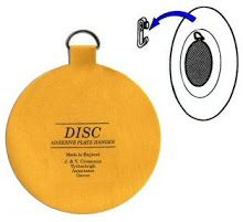 Invisible English Disc Adhesive Plate Hanger Set - 3 Inch and 2 - 4 Inch Hangers) - flatirons disc co.  sc 1 st  Pinterest & Hanging plates using English plate disks   Home   Pinterest   Plate ...