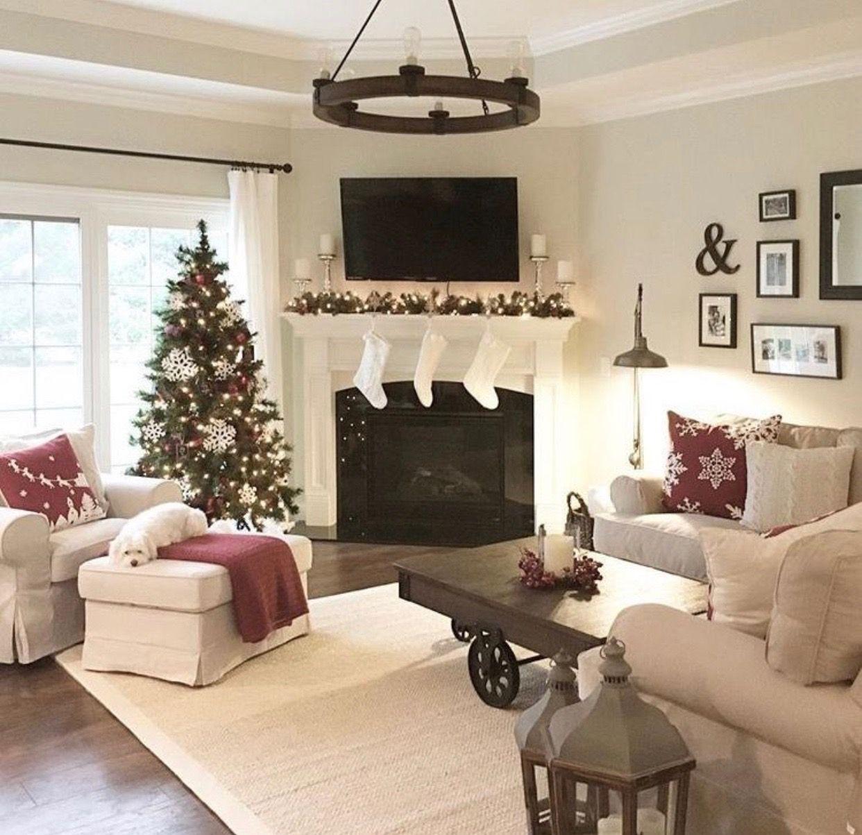 Living Room Setup idea   Corner fireplace living room ...