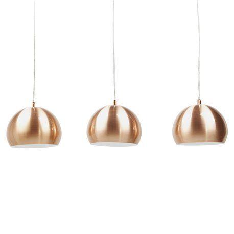 Designer Hängelampe TRIKA copper 189€ | Lampen ...