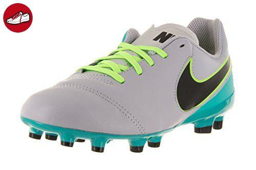 Nike Unisex-Erwachsene JR Tiempo Legend VI FG Fußballschuhe, Gris (Wolf  Grey /