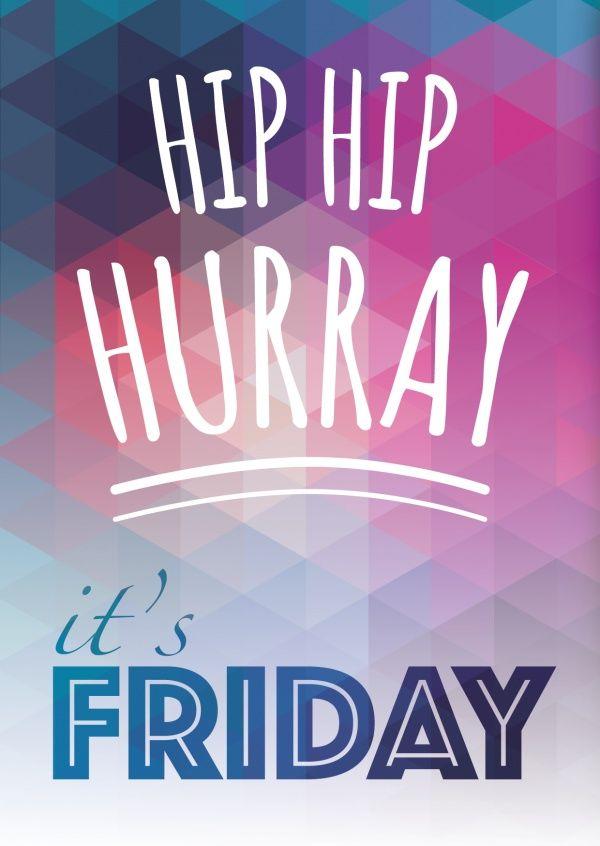 Hip Hip Hurray! | Wochenende | Echte Postkarten online versenden…