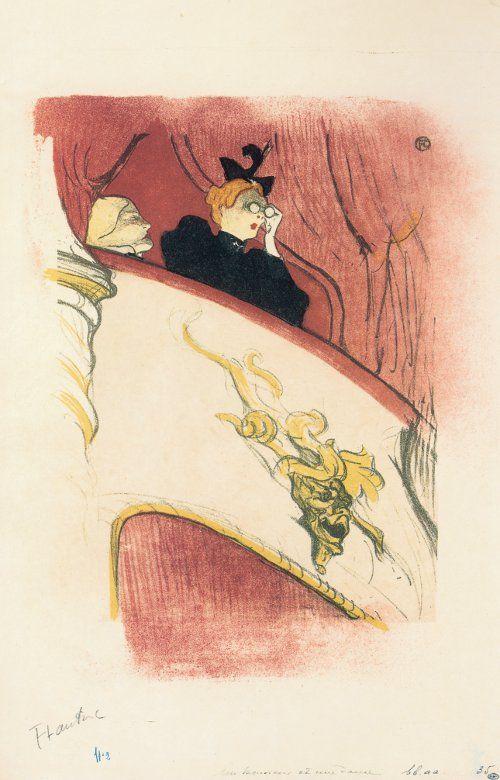 Der exzentrische Blick. Goya, Daumier, Toulouse-Lautrec - Sammlung Scharf-Gerstenberg (12.02.2013)